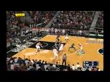 NBA 2K 14 Бруклин - Индиана: 1-я половина