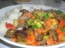 Рагу овощное с рисом Как приготовить рагу в горшочке