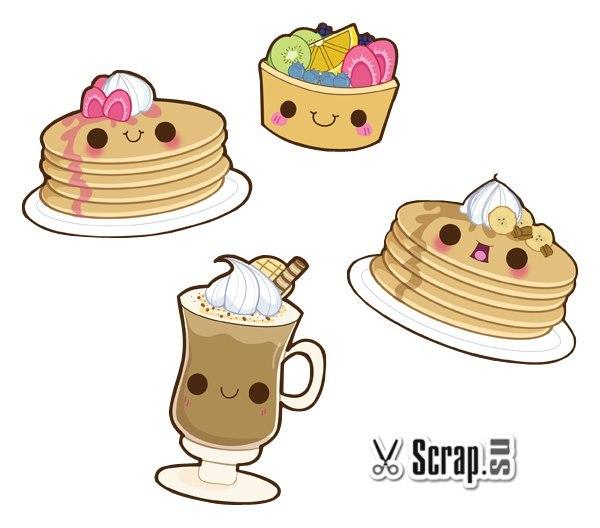 Рисунки сладостей срисовки