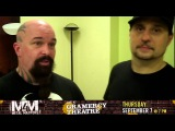 Kerry King & Dave Lombardo of Slayer talk Metal Masters 4 clinic in New York City