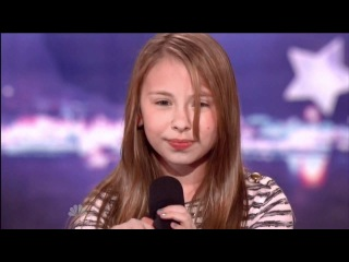 Anna Graceman 11 America's Got Talent