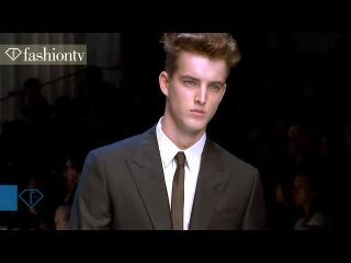 Sexy Male Models 9 ft Missoni + Ferragamo @ Men's Fashion Week | FashionTV - FTV.com