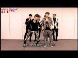 [Mirror]  EXO - MAMA tutorial by LAY @ Yahoo Interview 121122