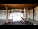 Alena Kazakevich- World Pole Dance Fitness 2012 Semifinalist