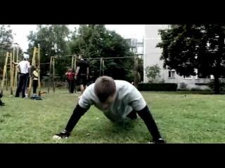 Māris Šlēziņš Calisthenics Motivation 2012 HD