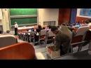 Typewriter In University Class (Czechoslovakian Student) PRANK