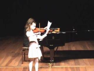 Lucija plays Komarowski, Concert Nr. 2 in A