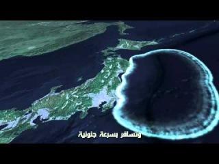 Цунами в Японии как произошел-очень жаль