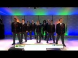 Darren Criss and The Warblers - Today Show - Hey Soul Sister - 04/19/2011