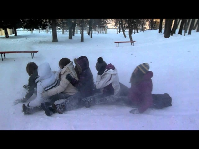 Сніжкове побоїще 3 - На гірці 2