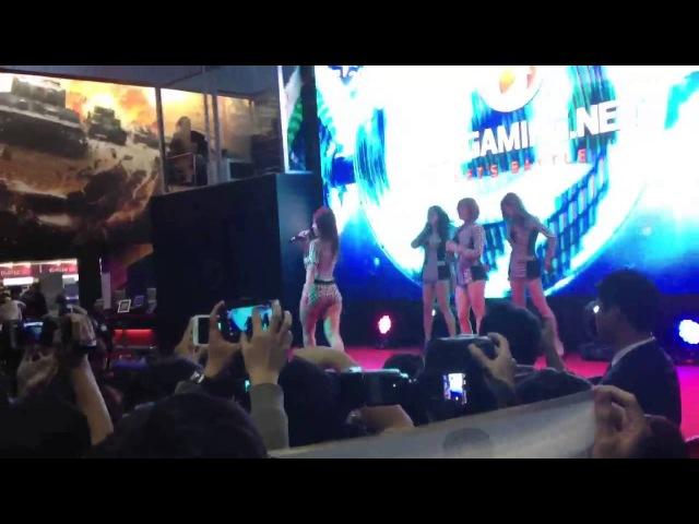 지스타 2012 - 시크릿 공연 포이즌