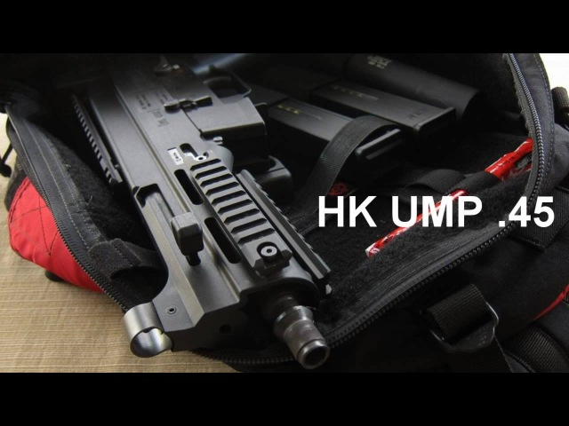 HK UMP .45 ACP/Gemtech UMP .45 Suppressor