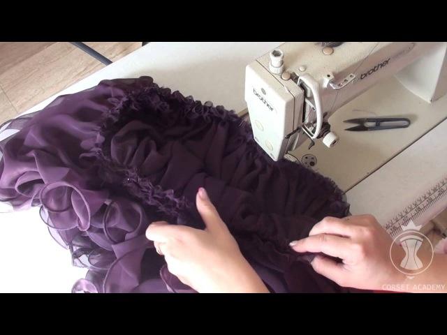 Платье на корсетной основе сшить