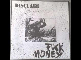 Disclaim - Fuck Money (hardcore punk Japan)