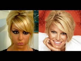 Retro Up-Do ~ Jessica Simpson style