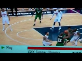 Video Crossover Of The Week Nigerian Point Guard Makes James Harden Hit A Split!