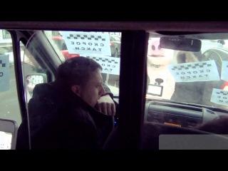 Скорая помощь-такси давит людей