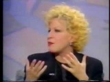 Bette Midler on the Terry Wogan show (U.K. 1991)
