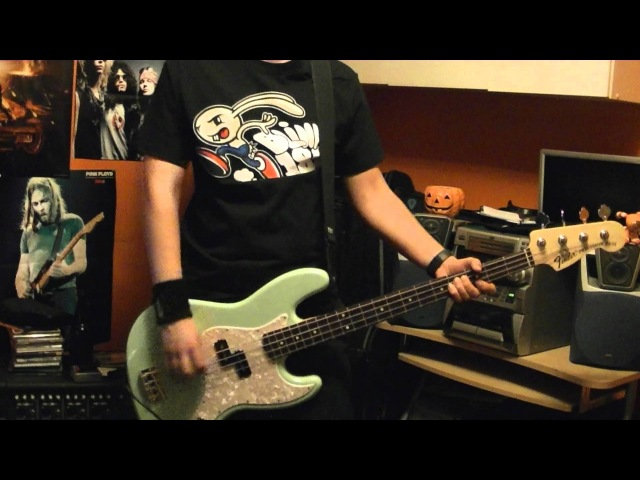 Blink-182 Ghost On The Dance Floor Bass Cover HD