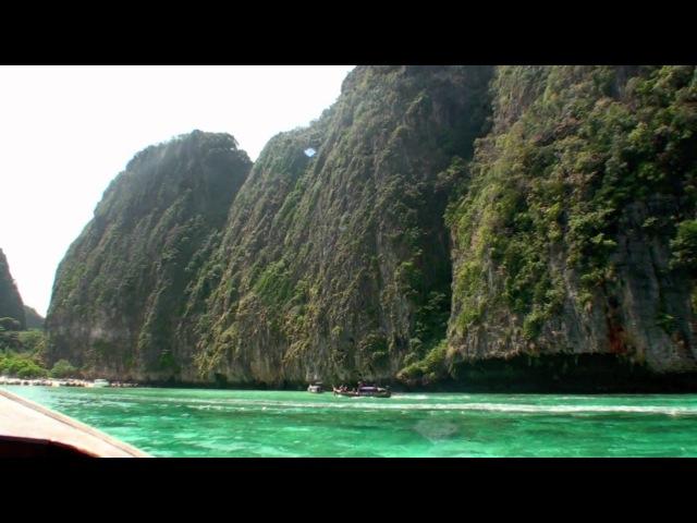 Koh Phi Phi Leh, Maya Bay Monkey Beach (HD Long Tail Boat Trip)