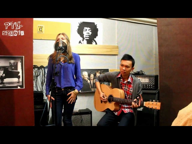 Adele - Rolling in the deep (Acoustic cover by Olesya feat tuanvu090)