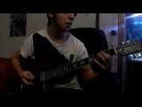 Bullet For My Valentine -- Hand Of Blood (OST Need For Speed Most Wanted) guitar cover