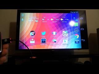 Адаптер MicroUSB в HDMI (SlimPort) для Nexus 4
