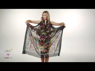 Как сделать платья из палантина