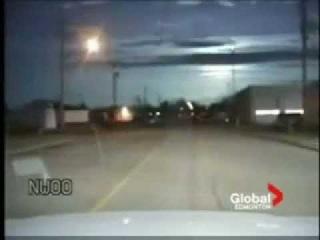 Падение метеорита в Канаде в 2008 году
