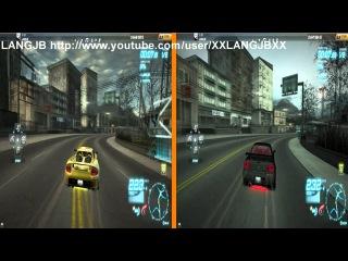 NFS World Porsche Carrera GT vs Nissan Nismo