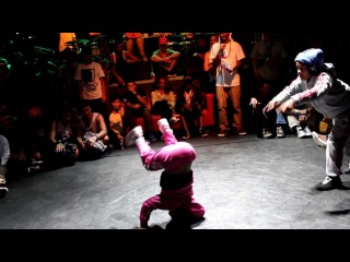IBE B-Girl 2on2 Soul Mavericks/Dragon Assassins vs Izzy and B-Girl Gravedigger First Battle