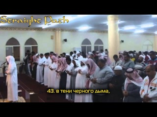 Абу Аус, сура аль-Вакиа, 41-56 ᴴᴰ