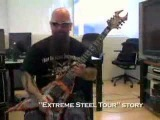 slayers kerry king doing a dead skin mask lesson