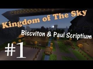 [#1] Minecraft - Paul & Biscviton: KINGDOM OF THE SKY - Подземелья