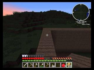 Совместный Let's play по minecraft 2 серия (строим дом)
