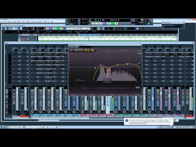 EQ'ing a Trance Track Tutorial (Part 2) (Cubase)