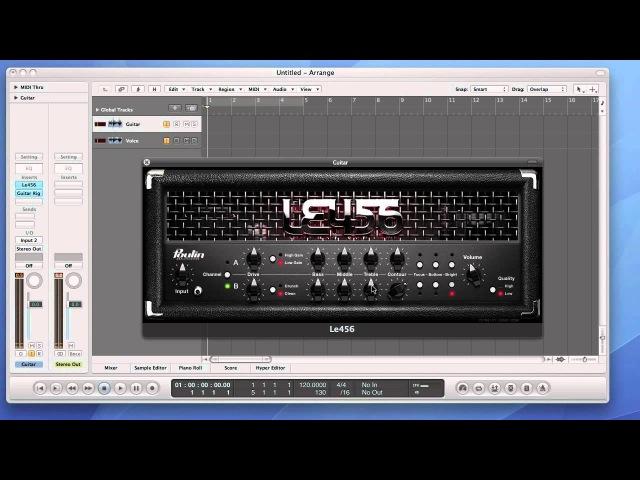 Виртуальный усилитель LE456 (LePou Plugins)