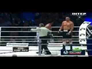 Бой Klitschko vs Charr, Технический нокаут Кличко - Чарр 8.09.12  .flv