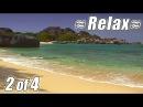 RELAXING VIDEO 2 BEST VIRGIN ISLANDS BEACHES Ocean Sounds Relaxing Sleep relax beach USVI BVI HD