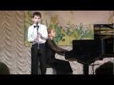 Николай Яушев (кларнет), Светлана Кутлина (фортепиано).