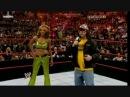 WWE RAW 11/16/2009: Melina Vs Alicia Fox (Lumberjill Match For Divas Champions)