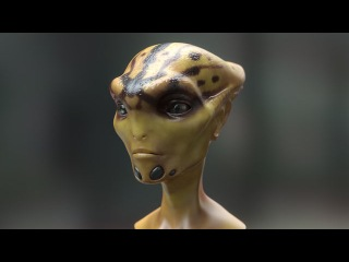 Alien Facial Animation Test (2011)