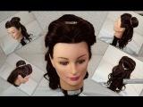 Peinado de la princesa  Bella /Belle's Hairstyle Princess Disney