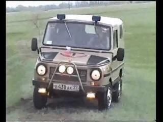 ЛУАЗ 969М переделка, хобби. Родино