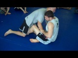 Butterfly Guard to Guillotine and Anaconda Choke - Ricardo Almeida Jiu Jitsu Hamilton NJ