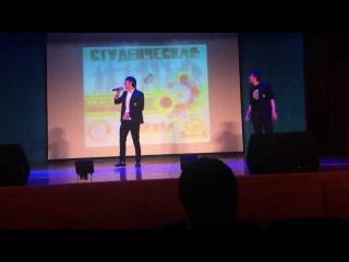 Docker выступление на студенческой весне 2013 ЧГУ г.Грозный