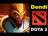 NaVi Dendi Dragon Knight Dota 2 gameplay