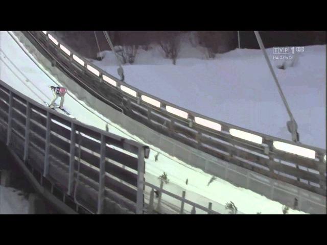 Manuel Fettner - 128m - Predazzo HS134 2013 (WCh) - Best Landing EVER [HD - 1080p]