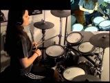 Opeth - Burden (drum cover by Tamara)