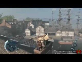Wii U - Assassin's Creed 3 WII U Gameplay Trailer [Nintendo Direct].